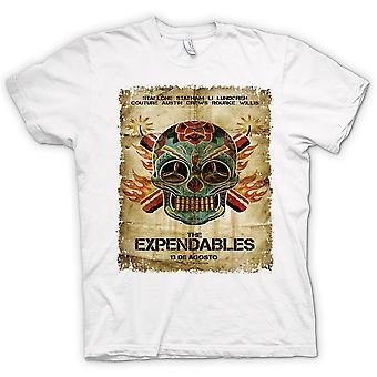 Mens T-Shirts-die Expendables - B-Movie - Poster