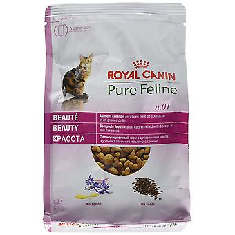 Royal Canin Cat Food Pure katachtige No 1 schoonheid droge Mix 300 g