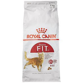 Royal Canin Fit 32 gato comida, mezcla seca, 2kg