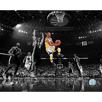 Stephen Curry 2016-17 Spotlight Action Photo Print