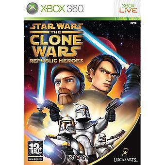 Star Wars The Clone Wars - republik hjältar (Xbox 360)