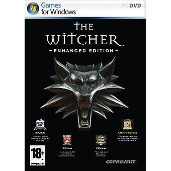 Witcher Enhanced Edition (PC)-fabriks forseglet