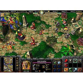 Warcraft III regeringstid av kaos (MacPC CD)