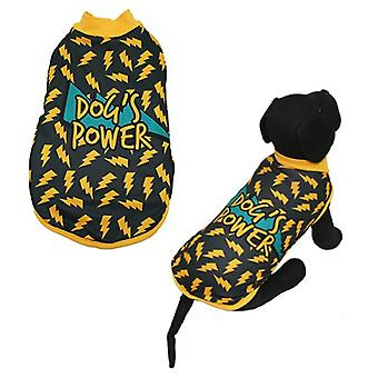 MI&DOG Abrigo Capa Felpado Dogs Power T-20 (Dogs , Dog Clothes , Coats and capes)