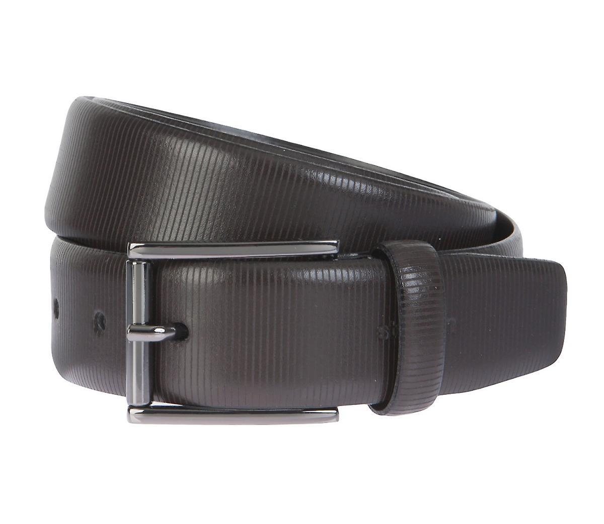 Ceinture en cuir Strellson ceintures hommes ceintures en cuir brun 2303
