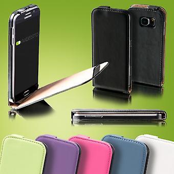 Flip Pocket Deluxe rosa för Samsung Galaxy S5 neo SM G903F ärm case fodral