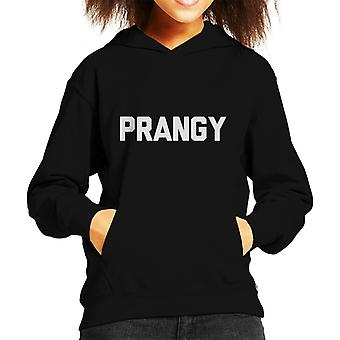 Love Island Prangy Slogan Kid's Hooded Sweatshirt