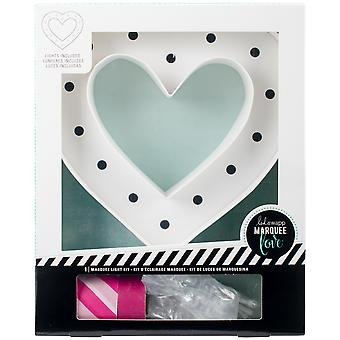 Heidi Swapp Marquee Love Washi Tape Kit-Heart