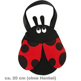 Filztasche Marienkäfer Käfertasche Käfer.