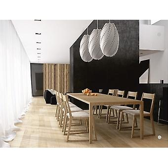 CHANDELIER PENDANT CEILING LIGHT LAMP PLASTIC MODERN
