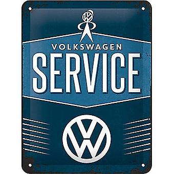 Volkswagen Service panneau métallique (200 Mm X 150 Mm)