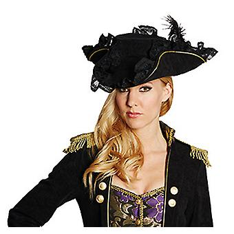 Noble pirate noir accessoires Pirate chapeau pirate Halloween Carnaval
