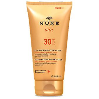 Nuxe Delicious Lotion High Protection for Face and Body SPF 30