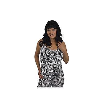 Kostüme Frauen Zebra print t-Shirt mit