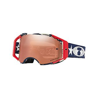 Oakley Troy Lee Designs Blue-Red-White Airbrake MX Goggle