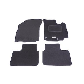 Fully Tailored Car Floor Mats - Suzuki SX4 2007-2018 Black