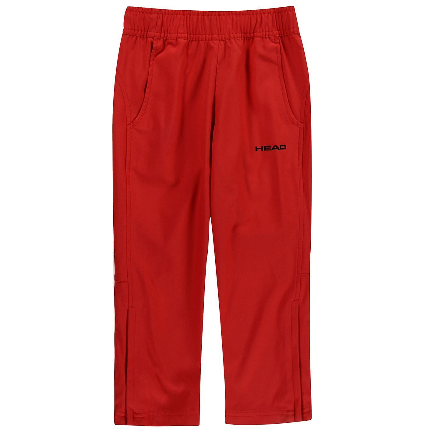 HEAD Kids Club Trousers Track Pants Bottoms Jogging Zip Warm Elasticated Waist