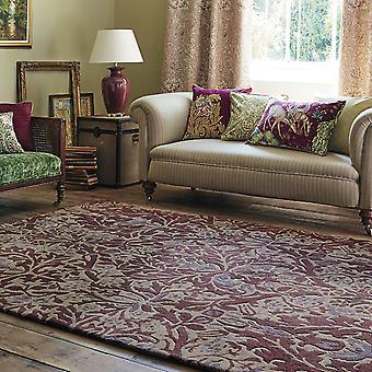 Flores de otoño alfombras 27500 en ciruelo por William Morris