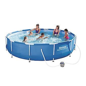 Bestway 12ft x 76cm Steel Pro Frame Set Pool