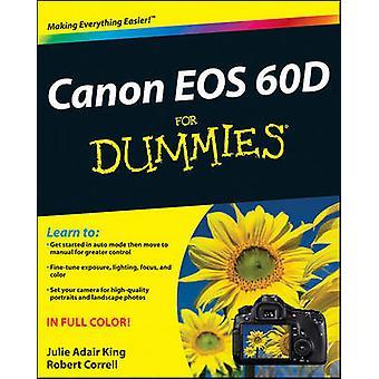 Canon EOS 60D für Dummies von Julie Adair King - Robert Correll - 9781