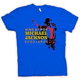 Womens T-shirt - Michael Jackson King Of Pop - New