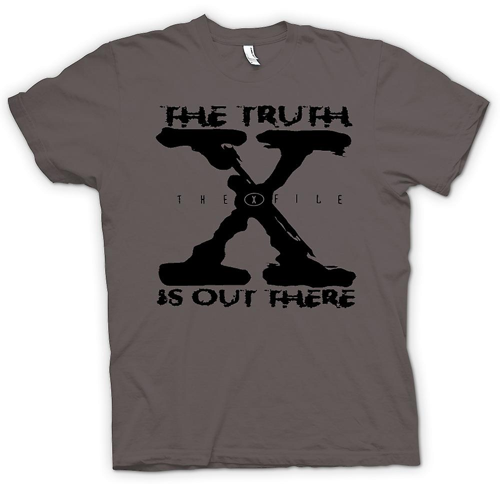 Womens T-shirt - X File Truth Is Out There - UFO