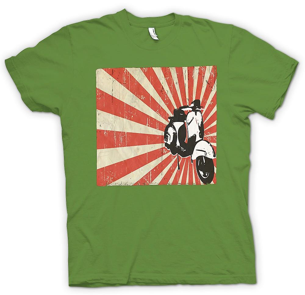 Mens T-shirt - Vespa Cool Design - Pop Art