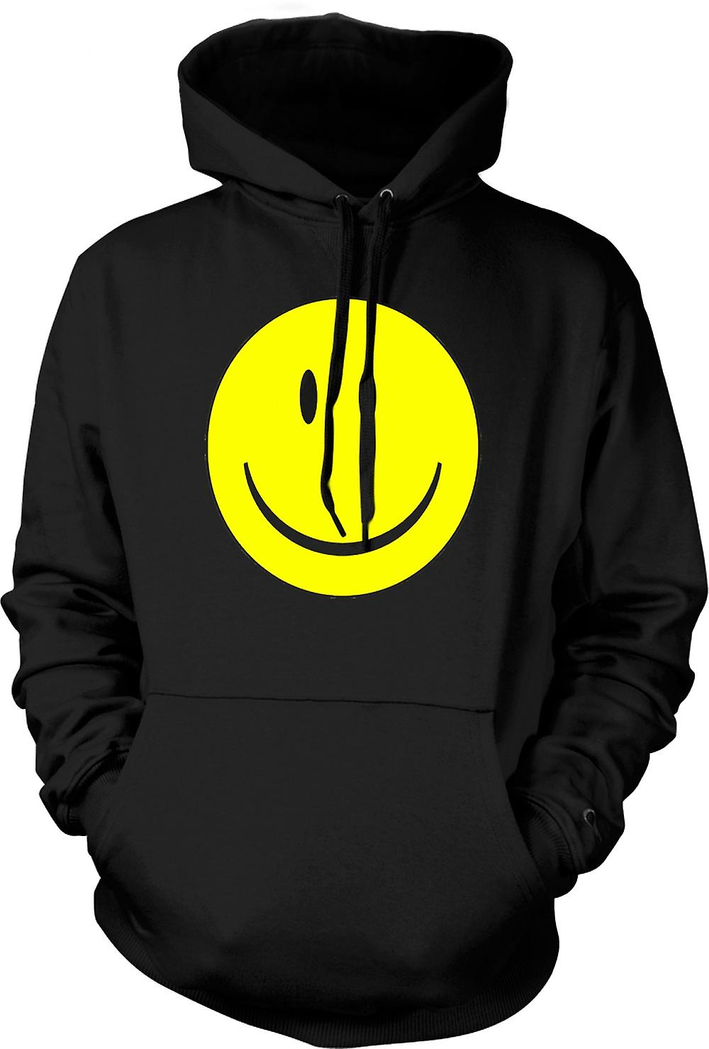 Mens Hoodie - miley cara - Acid House