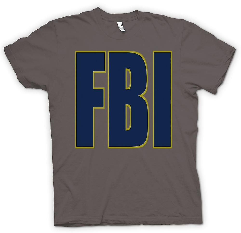 Womens T-shirt - FBI Military - Slogan