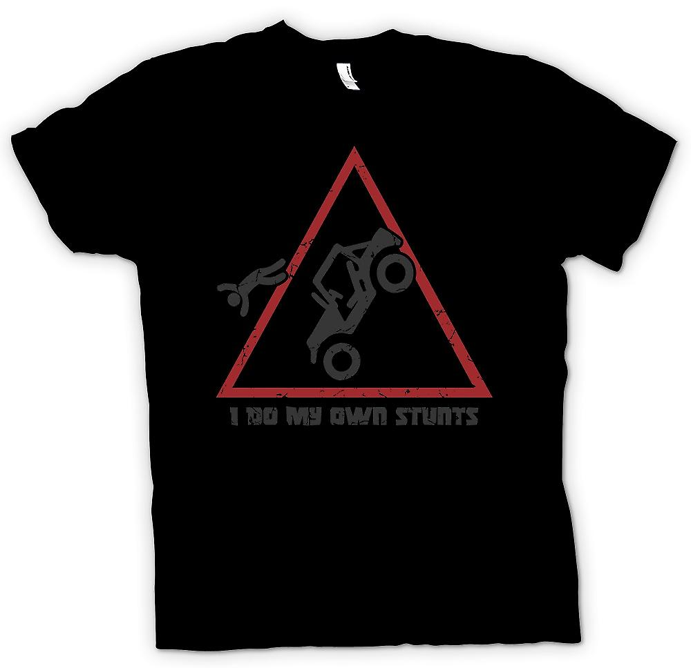 Mens T-shirt - I Do My Own Stunts - Offroad 4WD