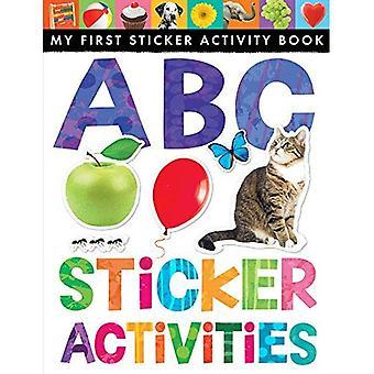 ABC klistermärke aktiviteter (min första klistermärke aktivitetsbok)