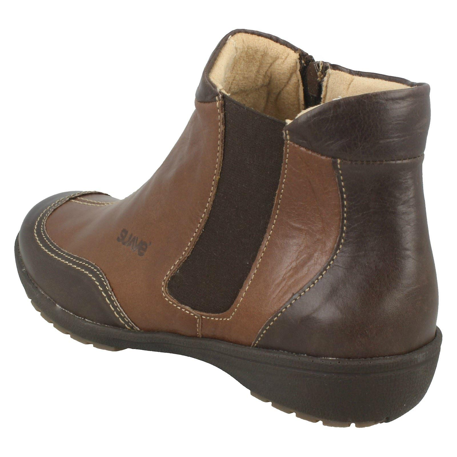 Ladies Suave Casual Ankle Boots Julie