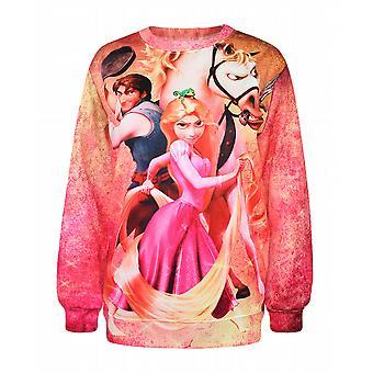 Waooh - gedruckte Sweatshirt Rapunzel Iorr