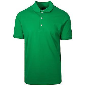 Paul & Shark Paul & Shark Logo Green Polo Shirt