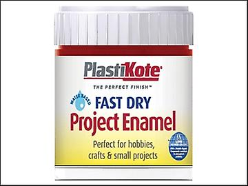 Plasti-kote Fast Dry Enamel Paint B25 Bottle Metallic Red 59ml