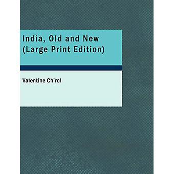 Indien gamla och nya stora tryckta upplagan av Chirol & Valentine
