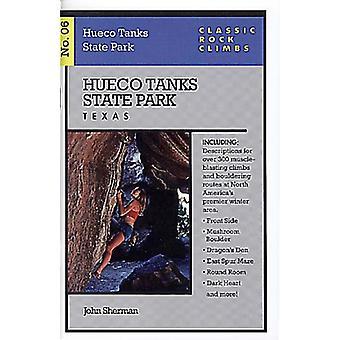 Parque Estadual de Hueco tanques - Texas por John Sherman - livro 9781575400334