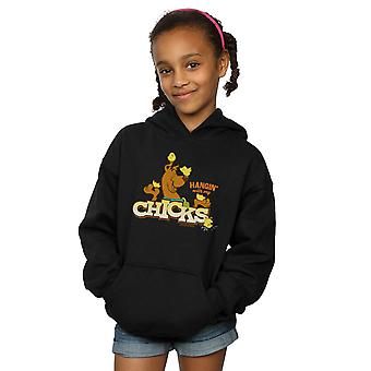 Scooby Doo Girls Hangin With My Chicks Hoodie
