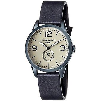 Zeno-Watch Herrenuhr Vintage Line Small Second blue 4772Q-bl-i9
