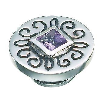 KAMELEON Plum Ice Sterling Silver JewelPop KJP386