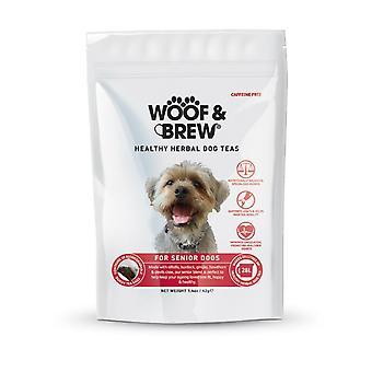 Wuff & Brew Senior Hund Tonic - 7-Tage-Teebeutel