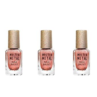 Barry M X3 Barry M Molten Metal Nail Paint - Holographic Sunset
