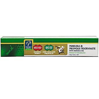 Manuka Health Propolis & MGO 400 Toothpaste with Manuka Oil 100g