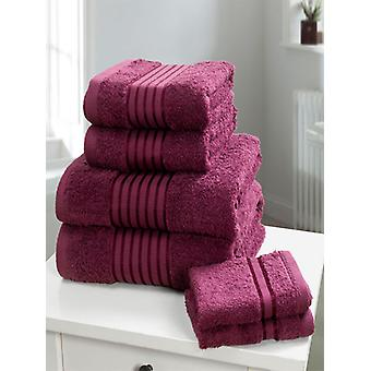 Windsor 6 Piece Towel Bale Plum