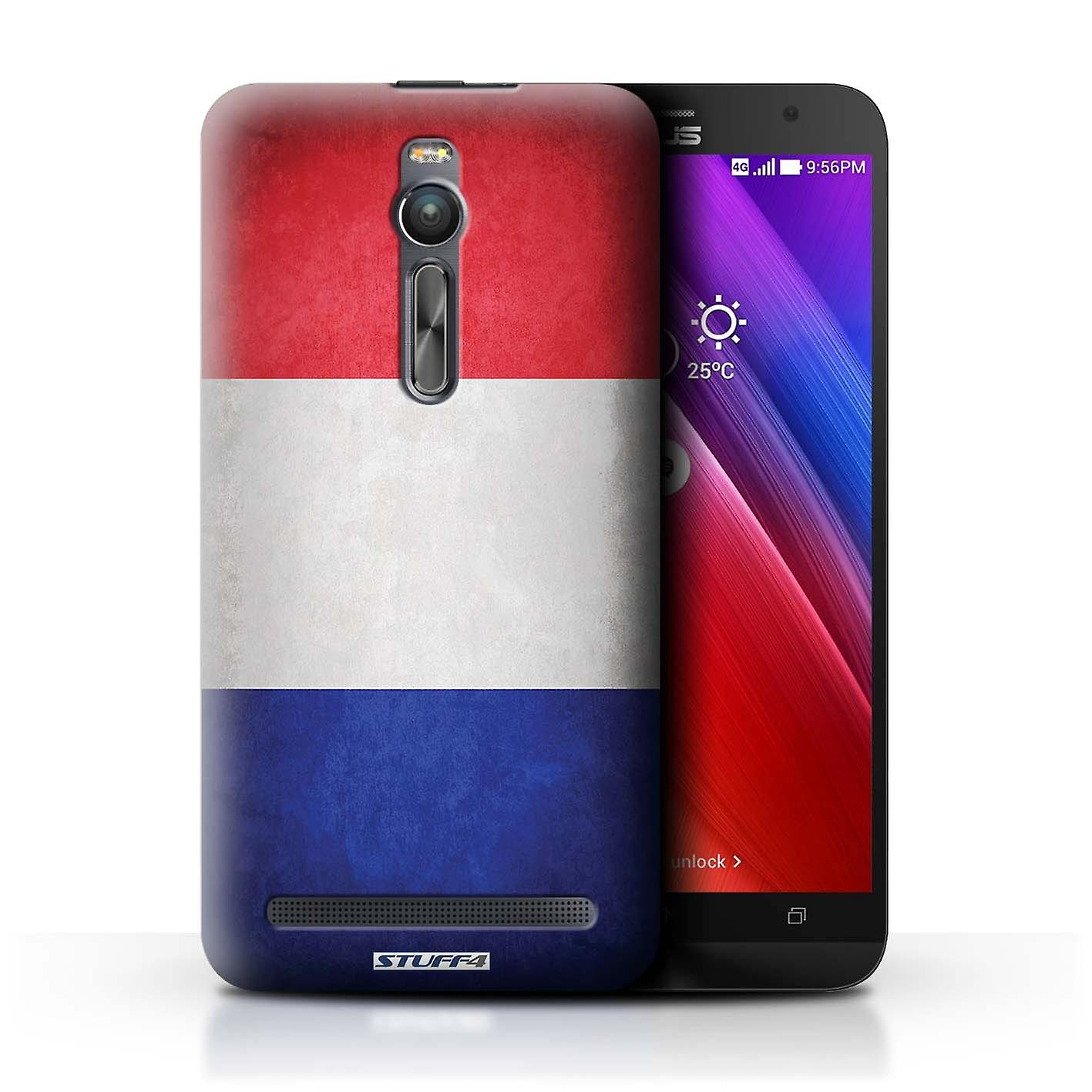 STUFF4 Case/Cover for Asus Zenfone 2 ZE551ML/France/French/Flags