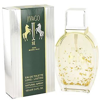 JIVAGO 24K by Ilana Jivago Eau De Toilette Spray 3.4 oz / 100 ml (Men)
