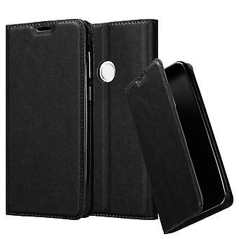 Cadorabo Hülle für BQ Aquaris C Case Cover - Handyhülle mit Magnetverschluss, Standfunktion und Kartenfach – Case Cover Schutzhülle Etui Tasche Book Klapp Style