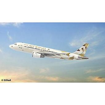 Revell 03968 Airbus A320 Etihad Airways Aircraft assembly kit 1:144