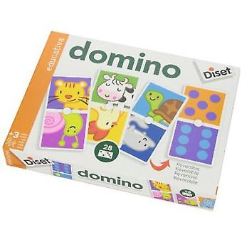 Diset Domino Animals & Points (Toys , Boardgames , Traditionals)