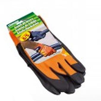 Stocker garden Work Gloves Orange Color Size 8 / S
